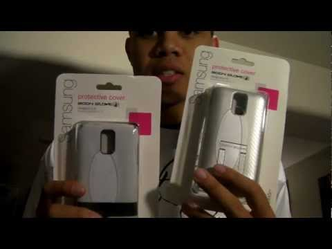 T-Mobile Samsung Galaxy S II Body Glove White Case Protector Unboxing™