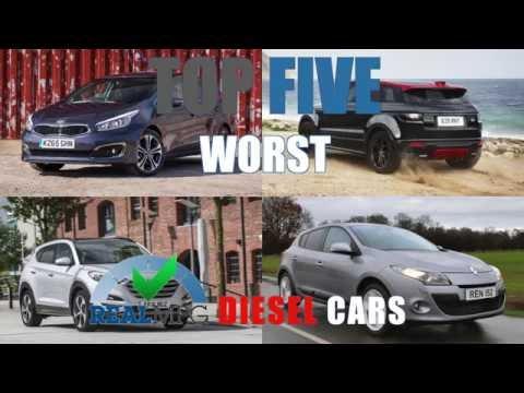 Top 5 Real Mpg Worst Diesel Cars