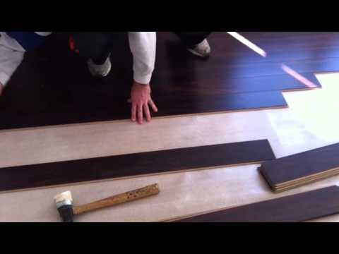 How to install a SwiftLock laminate flooring
