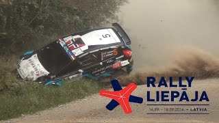 ERC Rally Liepāja 2016.(Actions & crashes)