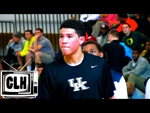 Devin Booker Kentucky Commit GETS BUCKETS at 2013 High School OT Invitational