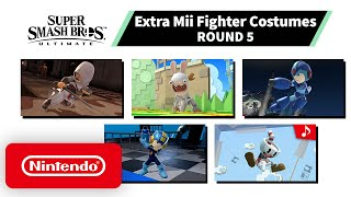 Super Smash Bros. Ultimate - Mii Fighter Costumes #5 - Nintendo Switch
