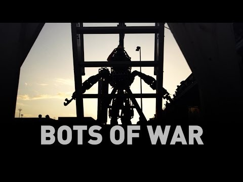 When robots go to war