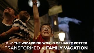 How The Wizarding World Of Harry Potter Transformed A Family Vacation
