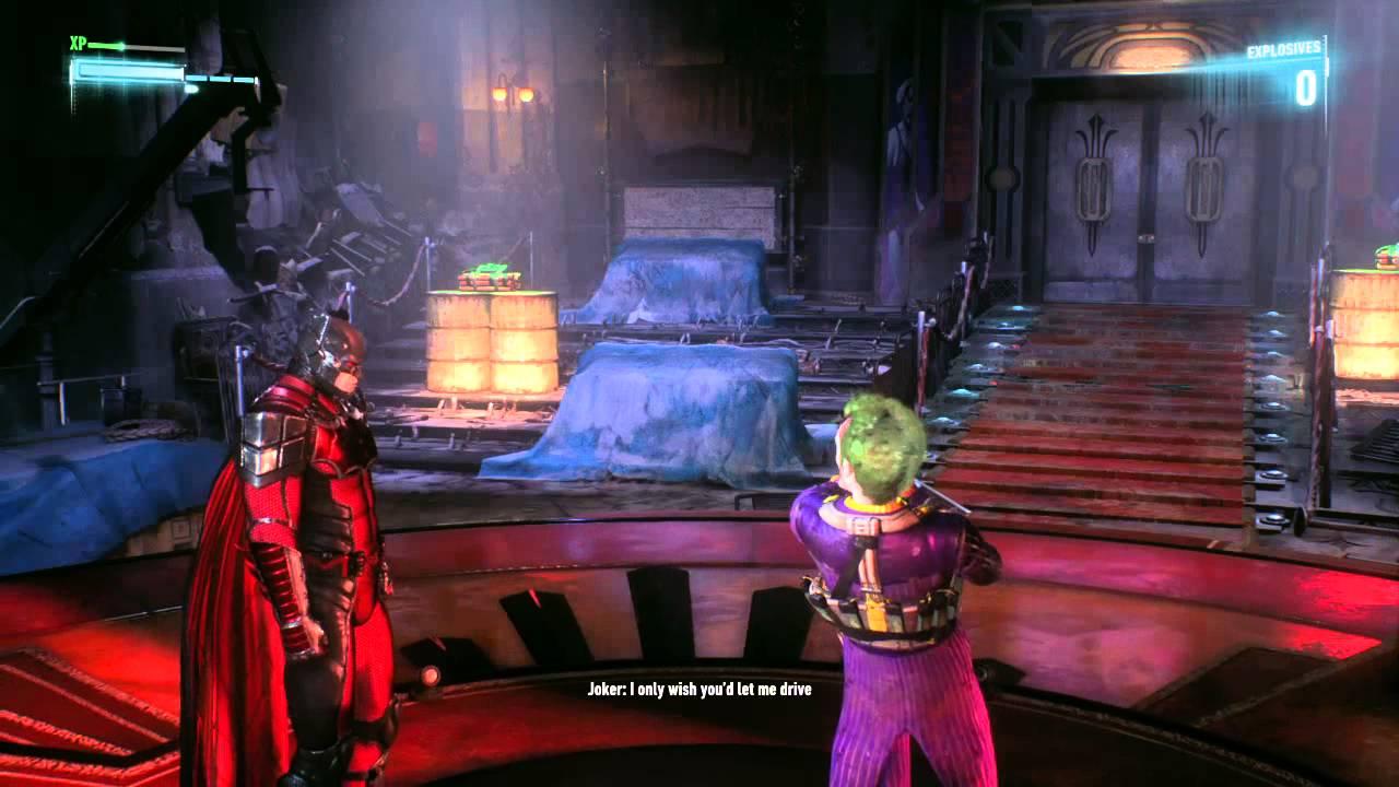 Arkham Joker Laugh Batman Arkham Knight ''joker