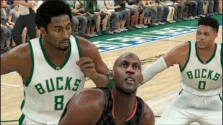 Legend Players VS Current Generation All Stars | NBA 2K17 Challenge