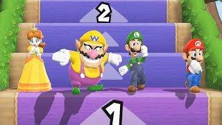 Mario Party 9 Step It Up Daisy Wario Mario Luigi