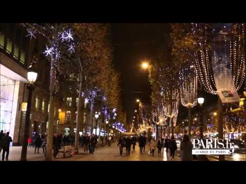 Illumination champs elys es paris 2014 youtube - Illumination paris 2014 ...