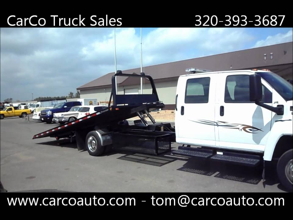 Chevrolet C4500 Rollback Tow Truck By Carco Auto And Truck