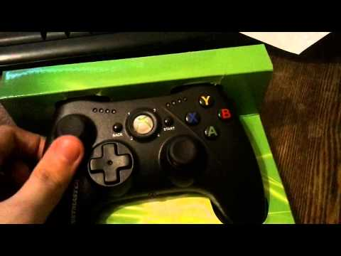 Thrustmaster GPX LightBack Black Edition PC / Xbox 360 Gamepad unboxing and test