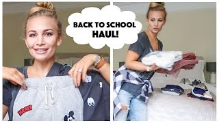 Back to School Clothing Haul! | Anna Saccone