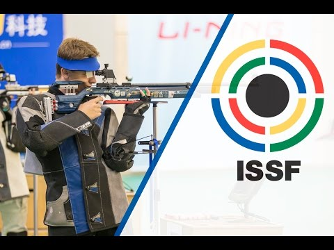 Finals 10m Air Rifle Men - ISSF World Cup in all events 2014, Beijing (CHN)
