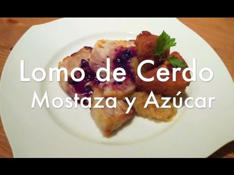Lomo de cerdo a la mostaza - Recetas de cocina