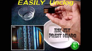 01. How To EASILY Unclog Ink Jet Print Heads