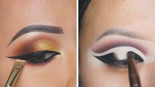12 EYE MAKEUP IDEAS AND EYELINER TUTORIALS 🌻 THE BEST EYE MAKEUP LOOKS COMPILATION PLUS