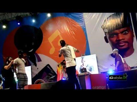 Le méga concert de Black M à Conakry