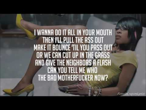 Ludacris - What's Your Fantasy? (Remix) [feat. Trina, Shawnna, & Foxy Brown] (Lyrics - Video)