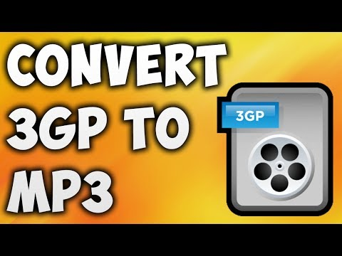 How To Convert 3GP TO MP3 Online - Best 3GP TO MP3 Converter [BEGINNER'S TUTORIAL]