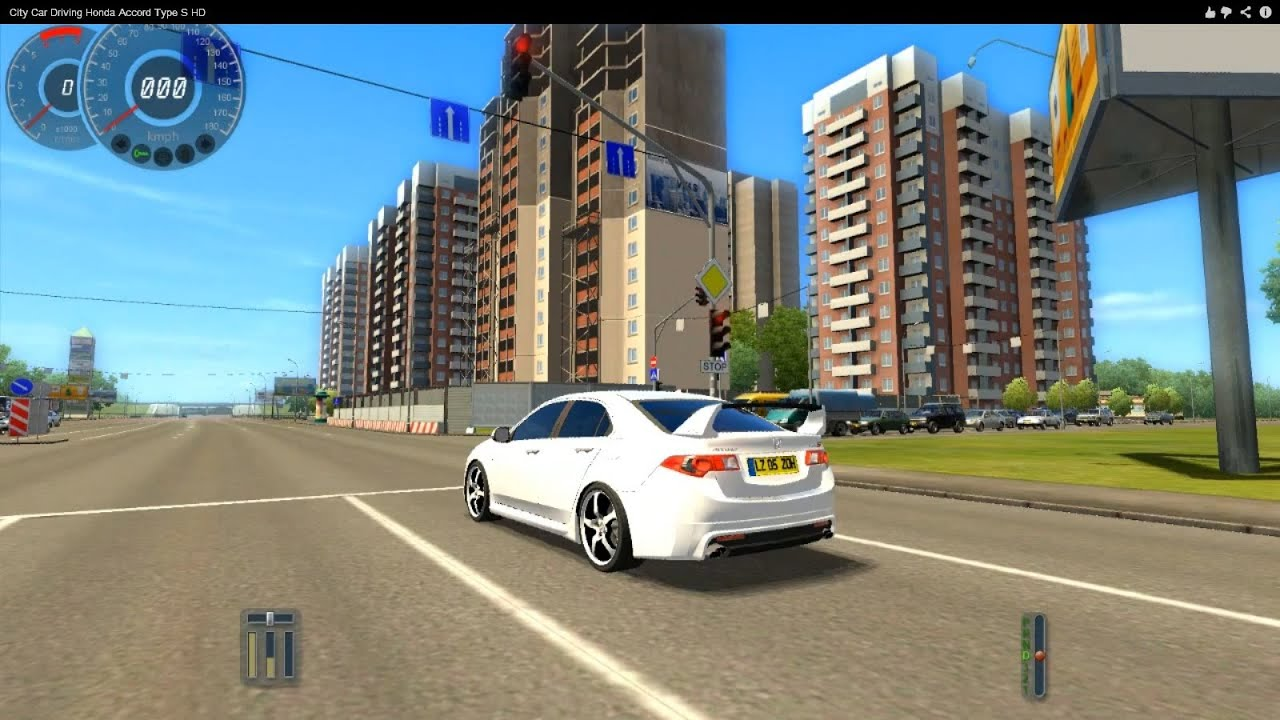 Honda Accord Car Racing Games