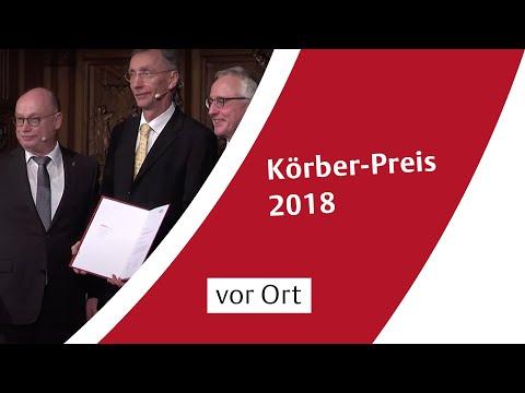 Verleihung des Körber-Preises 2018 an Svante Pääbo