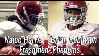 Najee Harris and Brian Robinson are the next great Alabama Running Backs