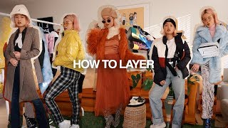 HOW TO LAYER | 5 Looks for Winter