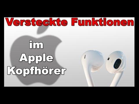 Versteckte Funktionen im Apple Kopfhörer