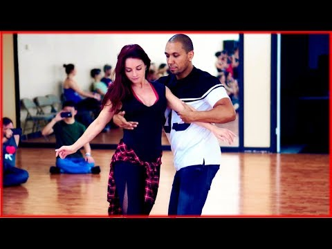 Kadu Pires & Larissa Thayane - Zouk Dance at Zouk Atlanta - Strong Fundamentals Demonstration