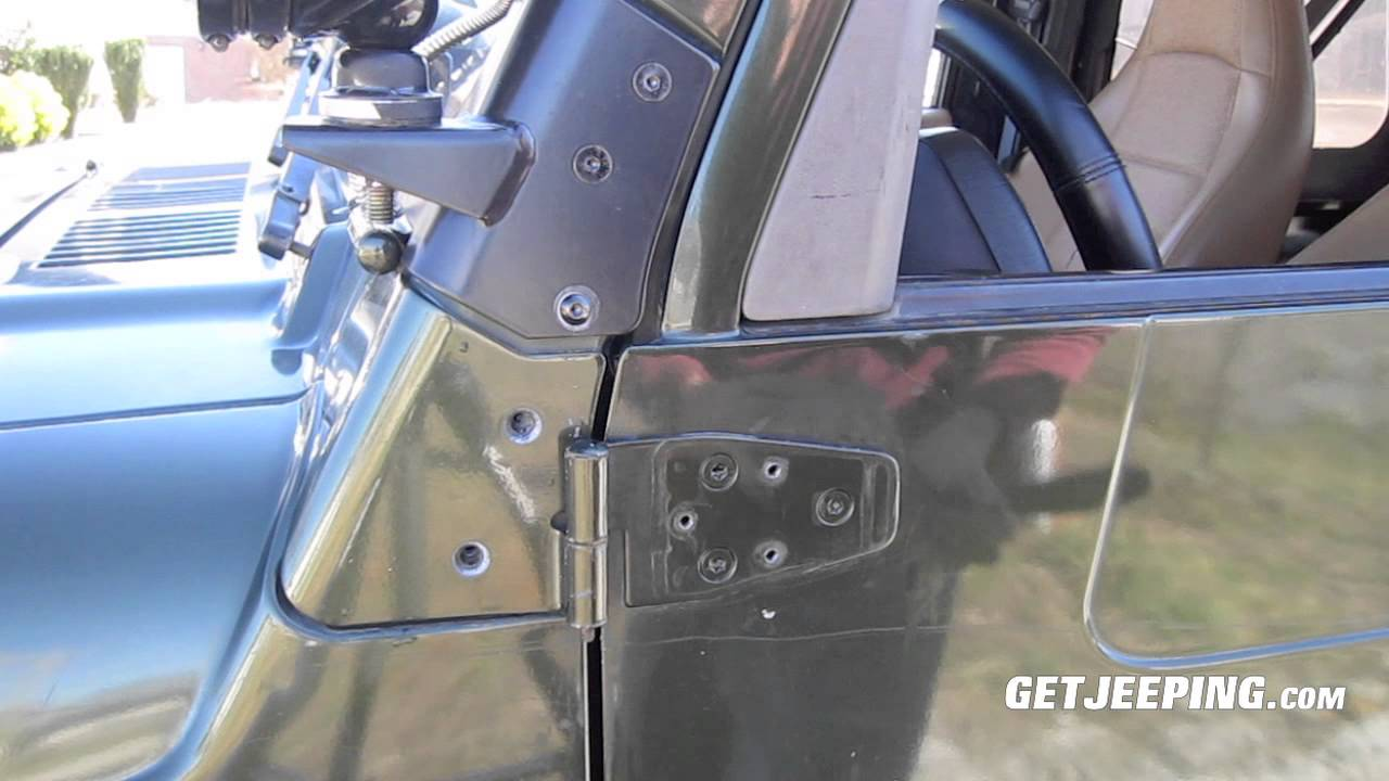 How To Install Rugged Ridge Mirror Relocation Bracket On