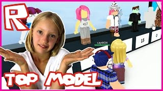 Top Model - LAST PLACE | Roblox + SHOUT-OUT