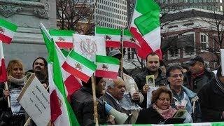تحصّن در هیگ هلند در ارتباط با حقوق بشر در ایران ۲۰۱۲