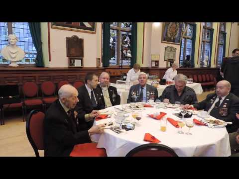 Musicians from traditional music classes in Inverness entertained a delegation of the Russian Arctic Convoy veterans and guests from Russia during a visit to Inverness Town House on Christmas...