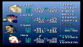 Final Fantasy VI (III) - Brave New World Mod + Nowea Difficulty Patch: Episode 58.
