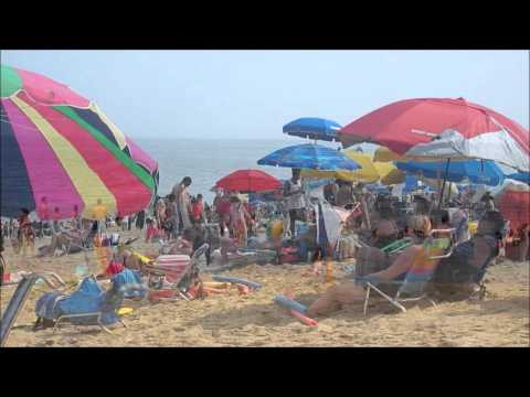 Rehoboth Beach, Delaware - One Entire Day on the Beach, USA - July 2012