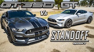 Ford Mustang GT PP2 Vs. Shelby GT350   Track Tested!