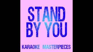Stand By You Originally Performed By Rachel Platten Instrumental Karaoke