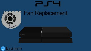 PS4 is Too Hot and Turns off Repair - (Fan Replacement) (CUH-1001A / CUH-1115A)