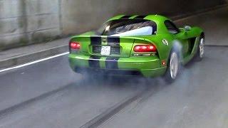 Supercars TUNNEL Accelerations, Launch Controls & Burnouts - INSANE SOUNDS!