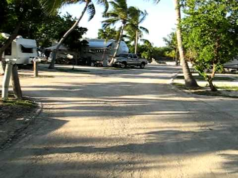 Big pine key fishing lodge campground 12 07 youtube for Big pine key fishing lodge big pine key fl
