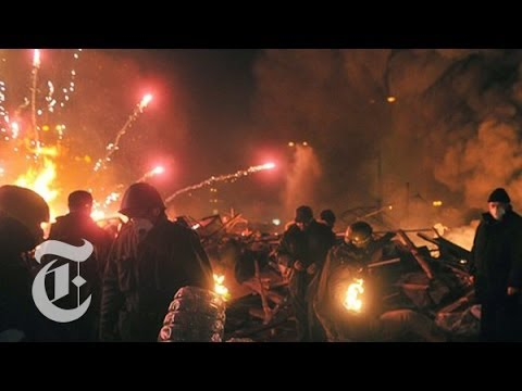 Ukraine Protest 2014: Deadly Clashes Escalate   | The New York Times