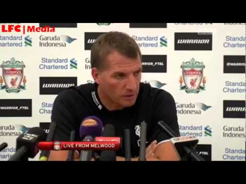 Brendan Rodgers Pre Southampton Press Conference
