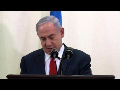 PM Netanyahu at Press Conference in Rwanda