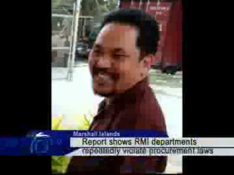 Report Show RMI Departments Violating Procurement Laws