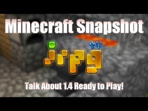 [irpg Minecraft Special] พูดคุยเรื่อง 1. 4 ด้วย 12w41a-b!