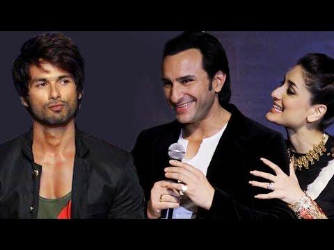 Shahid Kapoor UNITES with ex girlfriend Kareena Kapoor