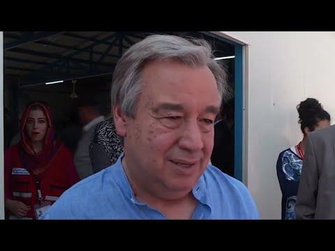 Iraq: High Commissioner Visits Syrians in Arbat Camp