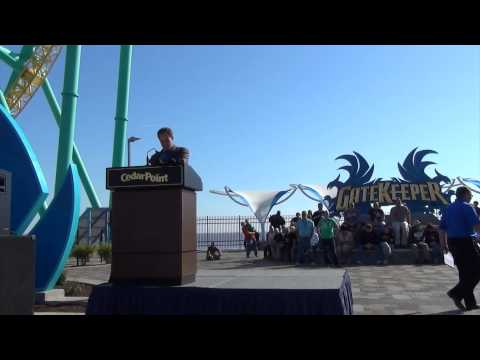 Gatekeeper Opening Ceremony Media Day May 9th 2013 Cedar Point
