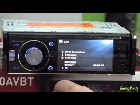Pioneer DVH-8680AVBT - Como usar o DVD Player