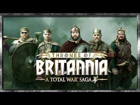 Total War Saga: Thrones of Britannia - Первые Подробности! Уже В 2018!