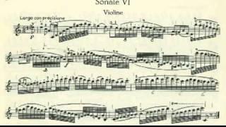 Paganini Sonata (Duo) A minor for Violin & Guitar Op.2 Part 1